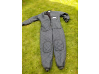 Quilted diving undersuit