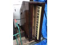 Baby Grand Piano - Non player - Great bit of shabby sheek - Free to anyone !