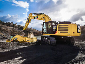 2015 CAT 336F Excavator for Rent with Thumb