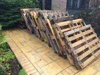 25 Pallets free to first to be able to collect