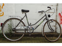 Vintage ladies dutch bike VELAMOS size 20 NEW brakes serviced - Welcome for test ride