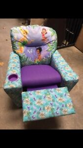 Kid's Tinkerbell Recliner