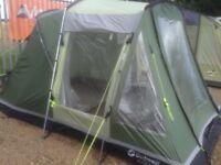 Outwell birdland 3 tent 3 man, carpet, and ground sheet
