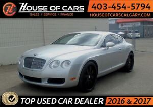 2006 Bentley Continental Coupe W/ Red leather interior