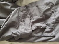 Mens grey ski/snowboard trousers/salopettes by Columbia