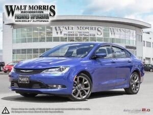 2015 Chrysler 200 S : LOCALLY OWNED, HEATED & VENTILATED SEATS