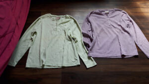 WOMEN'S LONG-SLEEVE SHIRTS AND ONE-PIECE