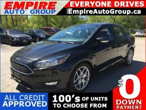 2015 FORD FOCUS SE * REAR CAM * BLUETOOTH * LOW KM