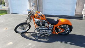 Harley Davidson Custom Springer Soft Tail