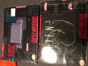 Snes Super Nintendo games cleaning kit alien 3