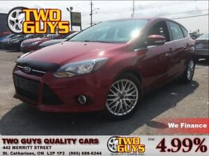 2013 Ford Focus Titanium NAVIGATION LEATHER MOON ROOF