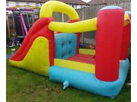 Bouncy castle with slide £100 ono