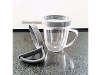 Nutri Bullet Drinking Cup & spare handle