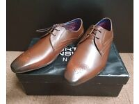 Brown Leather Formal Shoes; Size 9 *Brand NEW*
