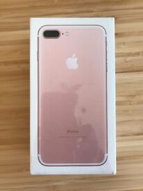 iPhone 7 Plus - 32GB Rose Gold - Brand New, Sealed