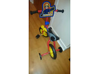 FIREMAN SAM CHILD'S TRYCYCLE