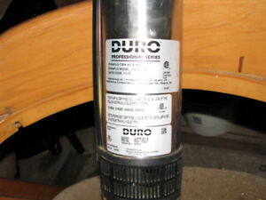 Dura Dynaflow 1/2 hp submersible well pump with hose and wire