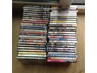 Job lot 50 DVDs plus three box set dvds