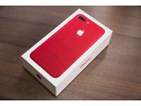 Brand New Iphone 7 Red 128GB Sealed
