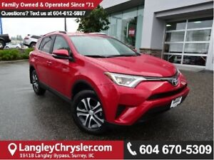 2016 Toyota RAV4 LE W/BACKUP CAMERA & HEATED SEATS