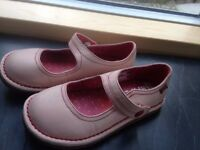 Girls Mary Jane camper shoes