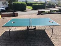 Kettler Table tennis table (foldable)