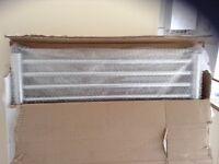 New boxed Kudox large chrome towel warmer 1674 x 600