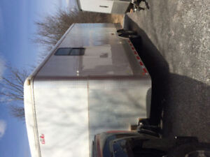 24x8.5 cargo trailer. Free hitch and ramps !!