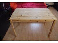 Ikea table INGO solid pine