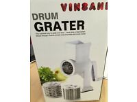 Brand new boxed DRUM GRATER.