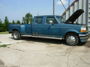 Parting Out 1994 F350 Crewcab Dually XLT        F250, F350