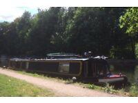47ft Stowe Hill Narrowboat on (optional) London mooring