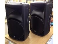 2000w Mackie SRM450 DJ Speakers pair