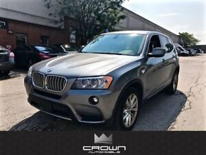 2013 BMW X3 xDrive35i, NAVIGATION, PANORAMIC ROOF