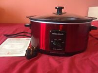 Morphy Richards slow cooker red 48702