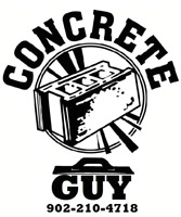 Call the Concrete Guy for your free estimate 902-210-4718