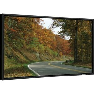 52 inch sharp ProSeries widescreen monitor TV with wall-mount