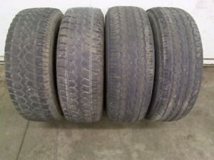 """4- 16"""" TIRES, 2-245/75 & 2-265/70 ALLSEASONS CAN SELL IN PAIRS"""
