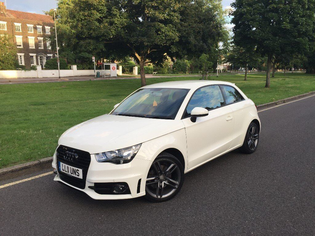 2011 audi a1 sport 1 4 tfsi s automatic white 3 door hatchback only 30k in walthamstow. Black Bedroom Furniture Sets. Home Design Ideas