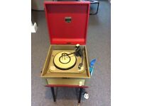 Dansette record player, great used condition