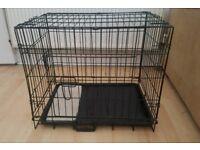Double Door Medium/Small Dog Pet Crate