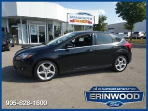 "2013 Ford Focus Titanium4CYL/LTHR/PROOF/REV SENS/18"" ALLOYS"