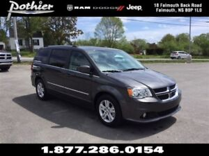 2016 Dodge Grand Caravan Crew | LEATHER | REAR CAMERA | HEATED S
