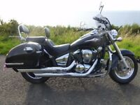Kawasaki VN900 B9F Classic. 2010. Low mileage. Excellent condition.Many extras.