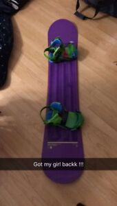 Snowboard 2014 ride dh 156 in great condition
