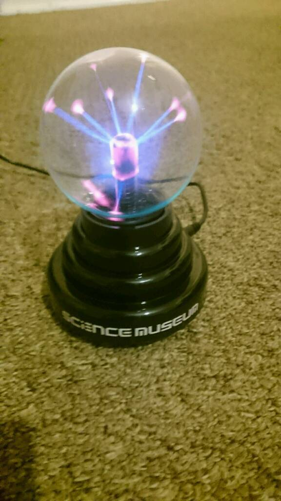 Plasma Globe with sound activation (from science museumin Newton Abbot, DevonGumtree - Plasma Globe, runs on batteries or USB. With sound activated activation As new condition Birthday present