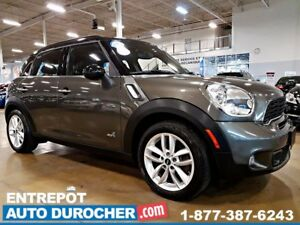 2013 MINI Cooper Countryman S 4X4 - AUTOMATIQUE - AIR CLIMATISÉ