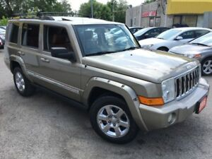 2006 Jeep Commander Limited/4WD/7PASS/NAVI/DVD/LEATHER/ROOF/ALLO
