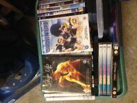 Bargain around 200 dvds