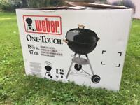 WEBER 47cm One-Touch Premium Charcoal Kettle Barbecue//Never taken out of box